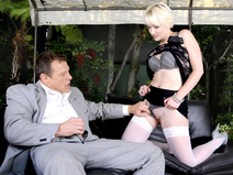 Kinky Secretary Nora Skyy Earns Her New Job